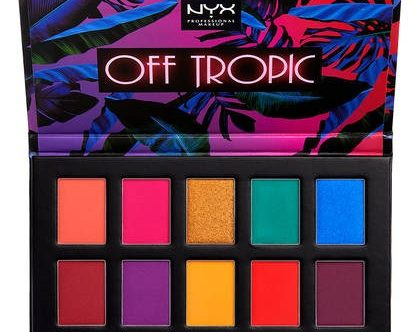 Paleta očních stínů NYX kosmetika
