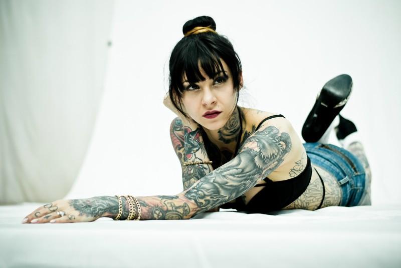 Hojení tetování